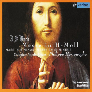 [중고] Philippe Herreweghe / Bach : Mass in B Minor BWV232 (2CD/수입/724354516320)