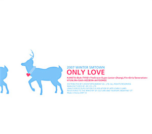 [중고CD] V.A. / 2007 Winter Smtown : Only Love (Digipack)
