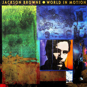 [중고] Jackson Browne / World in Motion (일본반)