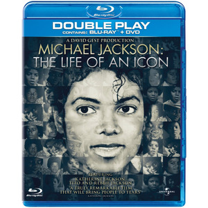 [Blu-ray] Michael Jackson: The Life Of An Icon + DVD (미개봉)