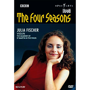[중고/DVD]  Julia Fischer / Vivaldi : Four Seasons (USA수입)