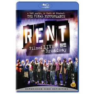 [중고/Blu-ray] 렌트 브로드웨이 공연 ((RENT: FILMED LIVE ON BROADWAY)