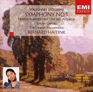 [중고] 장영주(Sarah Chang), Bernard Haitink / Vaughan Williams: Symphony No.5 (ekcd0302)