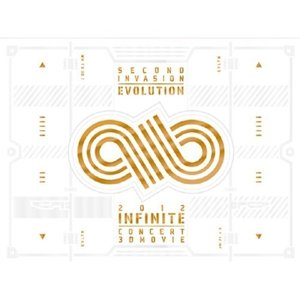 [개봉/DVD]인피니트 (Infinite) / 2012 Concert 3D Movie Second Invation : Evolution (1Blu-ray+2DVD 한정반)