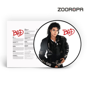 [LP] Michael Jackson / Bad (Ltd. Ed)(Picture Disc/수입/미개봉)