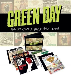 [개봉CD] Green Day - Studio Albums 1990 - 2009 (8CD Box Set/A급 수입)