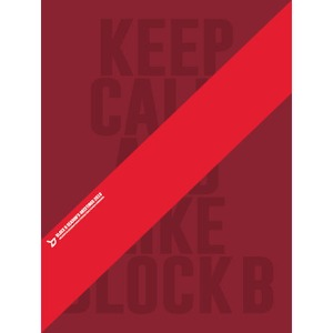 [개봉] 블락비 (Block.B) / KEEP CALM AND LIKE 2016 SEASONS GREETINGS [캘린더+DVD]