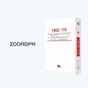 [중고DVD] 트와이스 (Twice) / TWICE TV5 TWICE [3DVD+80p포토북]