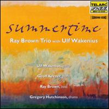 [중고] Ray Brown Trio, Ulf Wakenius/ Summertime (20Bit Remastered/DTS/수입)